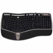Microsoft Natural Ergo Keyboard 4000 B2M-00020 Standard, Wired, Keyboard layout RU, Wireless connection no, USB, Black, Numeric keypad  51,00