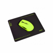 PORT CONNECT Wireless Neon Mouse + Mousepad Lime  24,00