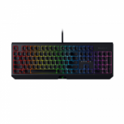 Razer BlackWidow, Gaming, RGB LED light, Russian, Black, Wired, Keyboard, Green Switch,  137,00