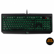 Razer BlackWidow Ultimate Stealth 2016, Gaming, Nordic, Mechanical, RGB LED light Yes (green), Wired, Black  115,00