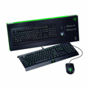 Razer  Cynosa Lite &  Abyssus Lite, Gaming, RGB LED light, Black, Wired, Keyboard and Mouse Bundle,  86,00