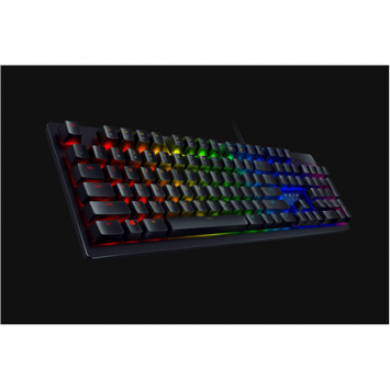 Razer Huntsman, Gaming, Russian, Opto-Mechanical, RGB LED light Yes, Wired, Black