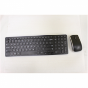 SALE OUT. Dell KM714 Wireless Keyboard & Mouse US/International Dell KM714 Standard, Wireless, Keyboard layout EN, USED, SMALL SCRATCHES. WITHOUT ORIGINAL PACKAGING, WITHOUT BATTERIES AND MANUALS, Black, Mouse included, English  48,00
