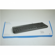 SALE OUT. Microsoft Wired Keyboard 600 USB Port Russian Hdwr Black Microsoft Wired Keyboard 600  ANB-00018 Standard, Wired, Keyboard layout RU, DAMAGED PACKAGING, Wireless connection no, USB, Black, Numeric keypad  55,00