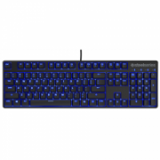SteelSeries Apex M400, Gaming, Nordic, Mechanical, RGB LED light Yes (blue), Wired, Black  115,00