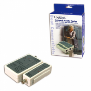 Logilink Cable tester for RJ45 and BNC with remote unit  8,00