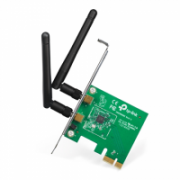 TP-LINK TL-WN881ND, PCI Express Adapter 2.4GHz, 802.11n, 300Mbps, 1xDetachable antenna 2dBi  15,00
