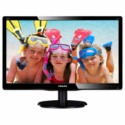 "Philips 200V4QSBR/00 19.53 "", VA, FHD, 1920 x 1080 pixels, 16:9, 8 ms, 250 cd/m², Black  77,00"