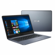 "Asus VivoBook R420MA-EB154T Gray, 14.0 "", FHD, 1920 x 1080, Matt, Intel Pentium, N5000, 4 GB, DDR4, Storage drive capacity 128 GB, Intel HD, Without ODD, Windows 10 S, 802.11 ac, Bluetooth version 4.2, Keyboard language English, Battery warranty 12 month(  376,00"