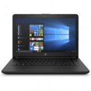 HP 14-bp019na N3710 quad/ 14.0 HD AG/ 4GB/ 64GB eMMc/ Jet Black FF / W10H6  347,00
