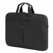 """Continent Notebook brief CC-012 Fits up to size 16 """", Black, Shoulder strap, Messenger - Briefcase  17,00"""