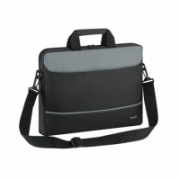 "Targus Intellect Fits up to size 15.6 "", Black/Grey, Shoulder strap, Messenger - Briefcase, Polyester  14,00"