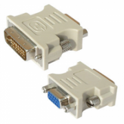 Logilink DVI-I male Dual-Link (24+5 pin) > VGA female HD (15-pin) VGA, DVI -I  5,00