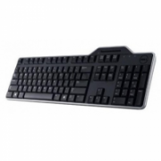 Dell KB-813 Keyboard layout Qwerty, Black, with smart card reader, Russsian  30,00