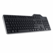 Dell KB813 Smartcard keyboard, Wired, Keyboard layout Estonian, USB, Black  27,00