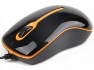 Gembird Optical mouse 1000 DPI, USB, black-orange  6,00