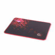Gembird MP-GAMEPRO-M Gaming mouse pad PRO, Large Black/Red, 400 x 450 x 3 mm  8,00