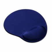 Gembird MP-GEL-B Gel mouse pad with wrist support, blue Blue, Gel mouse pad  6,00