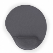 Gembird MP-GEL-GR Gel mouse pad with wrist support, grey Comfortable  Grey, Gel mouse pad  6,00
