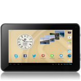 PRESTIGIO MultiPad 7.0 Ultra+ (7.0''LCD,800x480,4GB,Android 4.2,1GHz,512MB,3200mAh,Webcam,microUSB,Wi-Fi) Black Retail  208,00