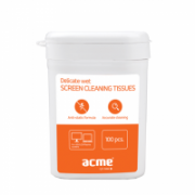Acme CL02 Screen Cleaning Wipes 100pcs LED/LCD/Plasma screens cleaning wipes  6,00