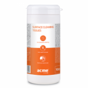 ACME CL41 Surface cleaning tissues,100 pcs, wet  6,00