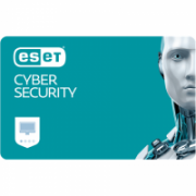 Eset Cyber Security for MAC, New electronic licence, 1 year(s), License quantity 3 user(s)  50,00