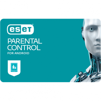 Eset Parental Control for Android, New electronic licence, 1 year(s), License quantity 1 user(s)