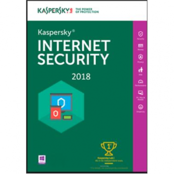 Kaspersky Internet Security Multi-Device 2018, New licence, 1 year(s), License quantity 1 user(s), BOX