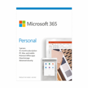 Microsoft 365 Personal QQ2-00998 1 Person, License term 1 year(s), Lithuanian, Medialess, P6  65,00