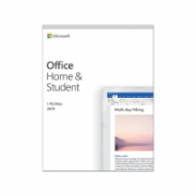 Microsoft 79G-05046 Office Home and Student 2019 Full packaged product (FPP), Latvian, Medialess box  133,00