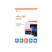 Microsoft Office 365 Home 6GQ-01076 Up to 6 people, License term 1 year(s), English, Medialess P4  90,00
