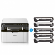 Brother Printer  DCP1610WVBZW2 Mono, Laser, Multifunctional, A4, Wi-Fi, Gray  243,90