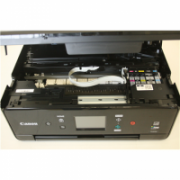 SALE OUT. Canon PIXMA IJ MFP TS6150, black Canon Multifunctional printer PIXMA IJ MFP TS6150 Colour, Inkjet, All-in-One, A4, Wi-Fi, Black, DEMO, USED, SCRATCHED  88,00
