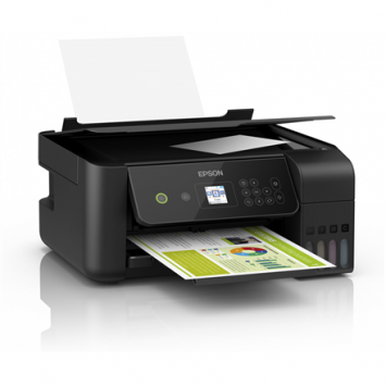 Epson 3 in 1 printer  EcoTank L3160 Colour, Inkjet, All-in-one, A4, Wi-Fi, Black