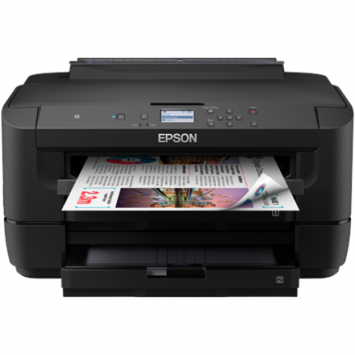 Epson Printer with two trays  WF-7210DTW Colour, Inkjet, A3, Wi-Fi, Black