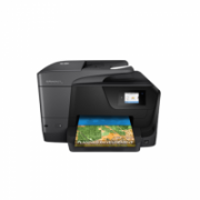 HP OfficeJet Pro  8710 Colour, Inkjet, Multifunction Printer, A4, Wi-Fi, Black  152,00