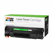 ColorWay Econom Toner Cartridge, Black, Canon 737, HP CF283X  11,00