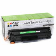 ColorWay Econom Toner Cartridge, Black, HP CB435A/CB436A/CE285A; Canon 712/713/725  9,00
