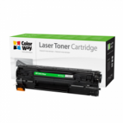 ColorWay Econom toner cartridge for Canon:725, HP CE285A ColorWay Econom Toner Cartridge, Black  9,00