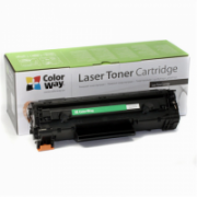 ColorWay Toner Cartridge, Black, Canon: 728/726, HP CE278A  11,00