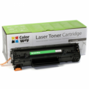 ColorWay Toner Cartridge, Black, HP CE285A (85A); Canon 725  11,00