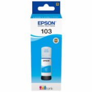 Epson 103 ECOTANK Ink Bottle, Cyan  8,00