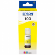 Epson 103 ECOTANK Ink Bottle, Yellow  8,00