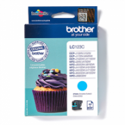 Print4you Analog  Brother LC123C Ink Cartridge, Cyan  4,00