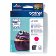 Print4you Analog  Brother LC123M  Ink Cartridge, Magenta  4,00