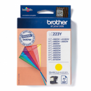 Print4you Analog Brother LC223Y  Ink Cartridge, Yellow  5,00