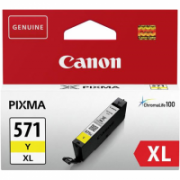 Print4you Analog Canon CLI-571YXL Ink Cartridge, Yellow  4,00