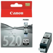 Print4you Analog  Canon PGI-520Bk  Ink Cartridge, Black  4,00