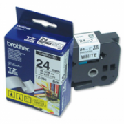 Brother TZ-251 Laminated Tape Black on White, TZe, 8 m, 2.4 cm  19,00